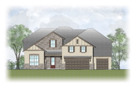 Drees Homes in Caliterra Dripping Springs