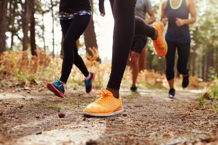 trail running vs street running