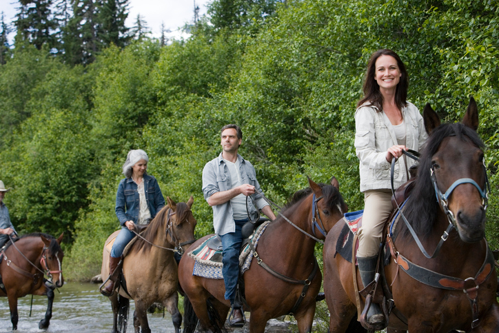 horseback riding in Dripping Springs