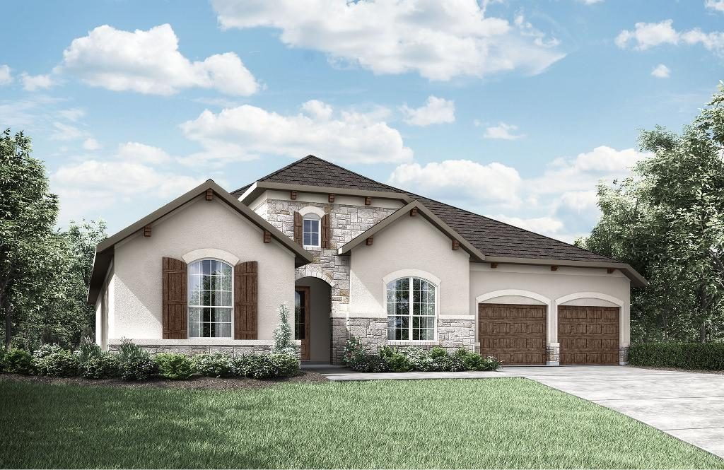 homes available at Caliterra, Drees Custom Homes, 154 Double L Drive