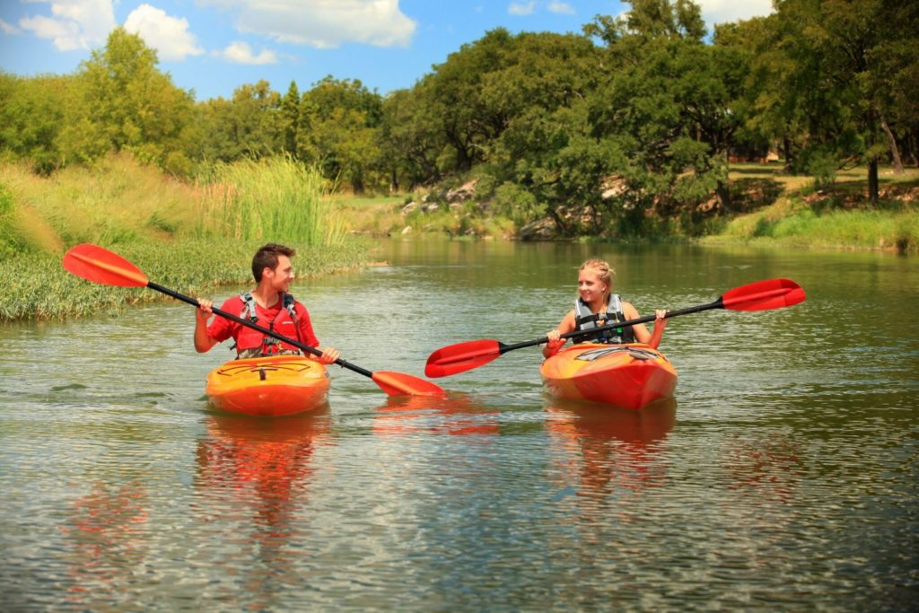 Caliterra, summer activities, kayaking