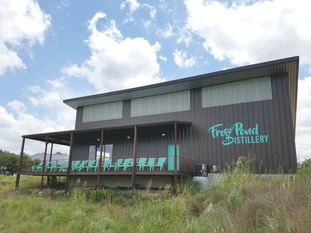 Frog Pond Distillery, Dripping Springs distillery, vodka, gin, Dripping Springs business, things to do in Dripping Springs, Dripping with Taste Wine & Food Festival, Dripping Springs vodka, Dripping Springs gin