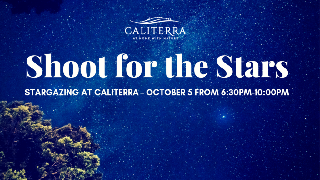 dark sky community, master-planned community, Dripping Springs events, stargazing at Caliterra, Caliterra events, October events