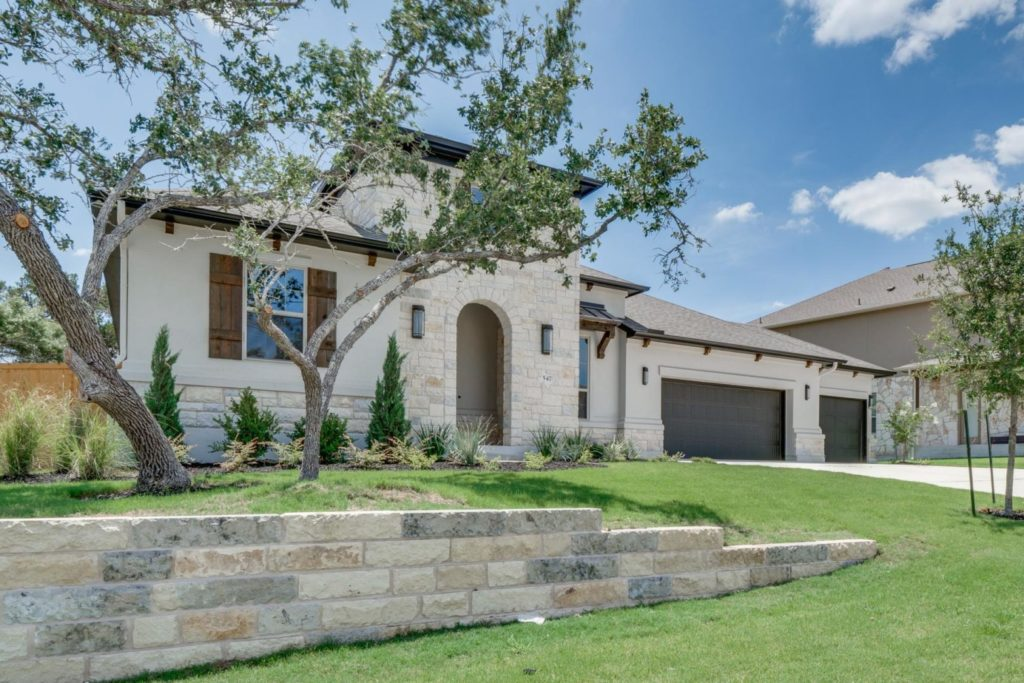 Caliterra, master-planned community in Dripping Springs, homes for sale in Dripping Springs, Drees Custom Homes, 547 Peakside Circle