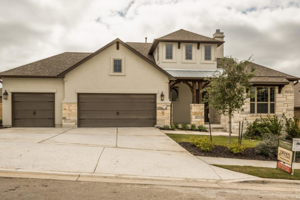 new homes in Dripping Springs, Caliterra, master-planned community in Dripping Springs, homes for sale in Dripping Springs, Drees Custom Homes, 143 Brins Way