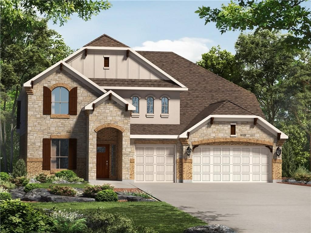 new homes at caliterra, caliterra, master-planned community in dripping springs, new homes in dripping springs, Brookfield Residential, 556 Peakside Circle